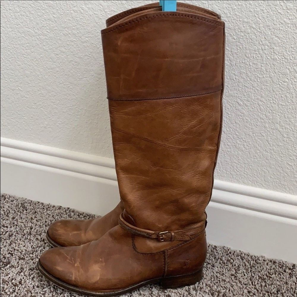 083f6aa27f9 FRYE Women s Melissa Belted Tall Knee High Boot 7.5 M US  fashion  clothing   shoes  accessories  womensshoes  boots (ebay link)