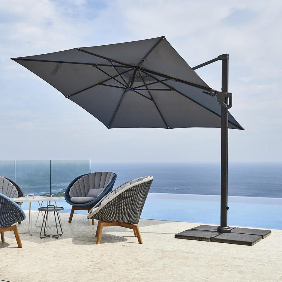 Parasol Aluminium Luxe 3 X 4 M Residence.Hyde Luxe Tilt Parasols In 2019 Products I Love Garden Parasols