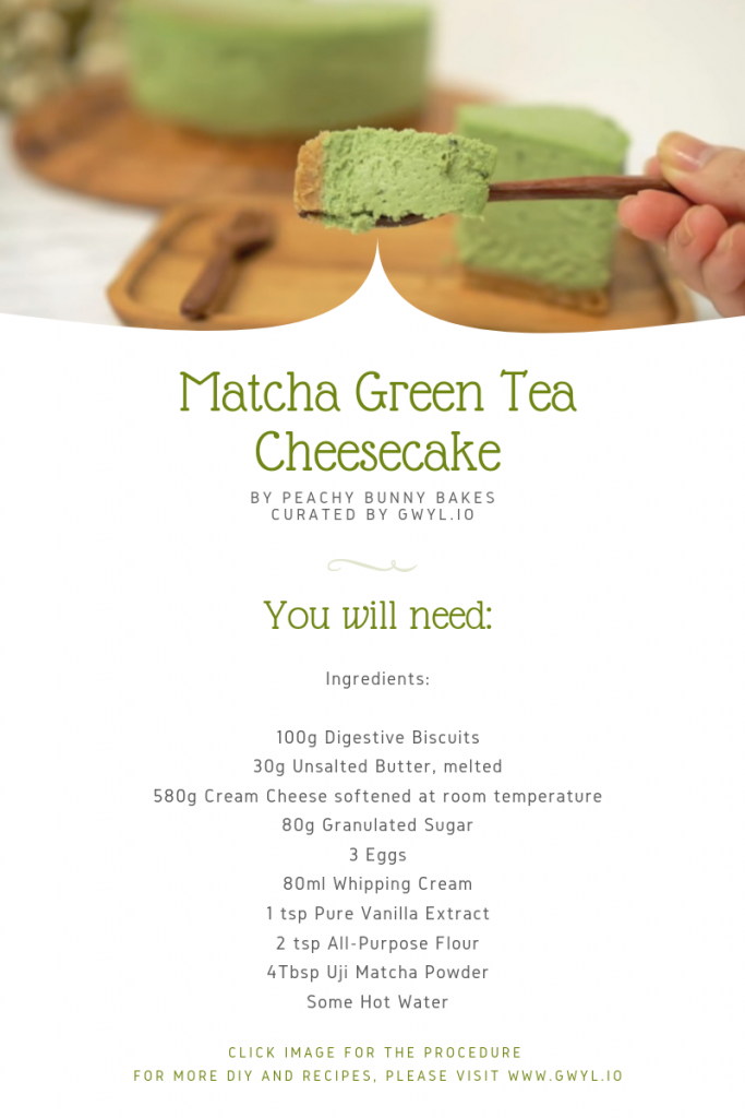 Photo of Learn How To Make This Refreshing Treat – Matcha Green Tea Cheesecake!
