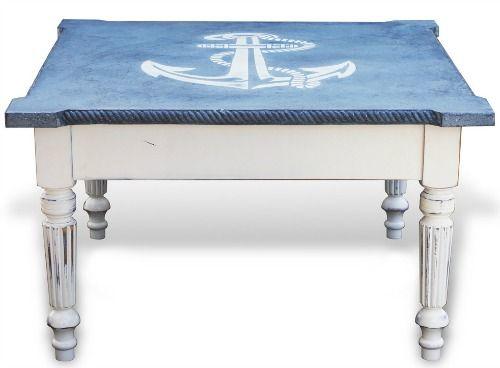 nautical anchor coffee table | shop or diy: http://wwwpletely