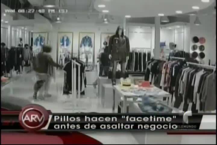 Ladrones Asaltan Tienda De Ropa Cargando Con Más De 100 Mil Dólares