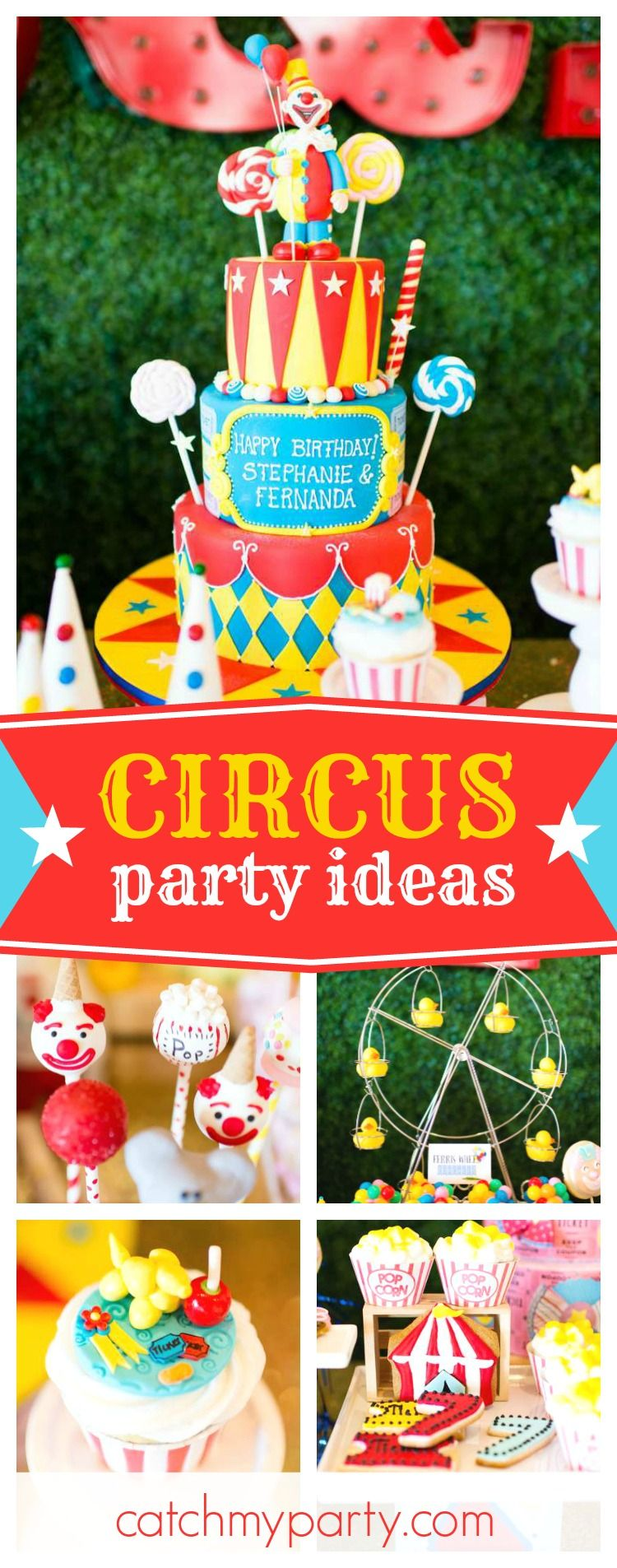 Check Out The More Like This: Check Out This Awesome Vintage Circus Birthday Party. The