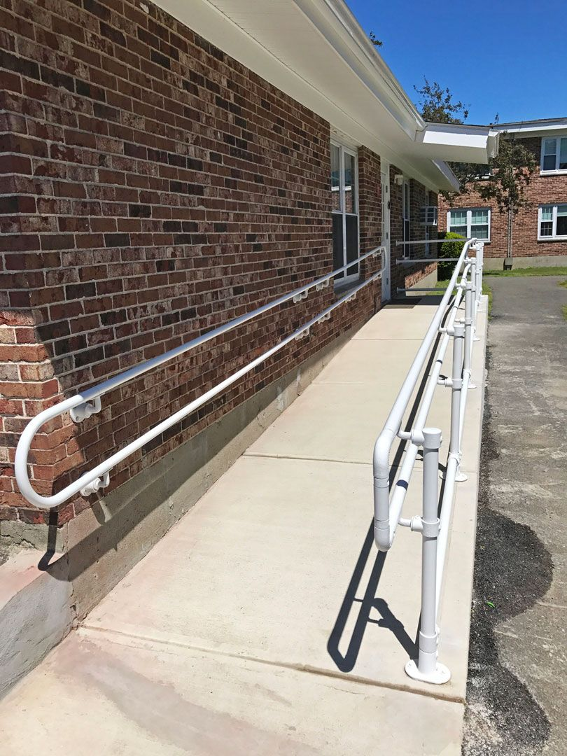 Best Build A Simple Handicap Accessible Railing Railing 400 x 300