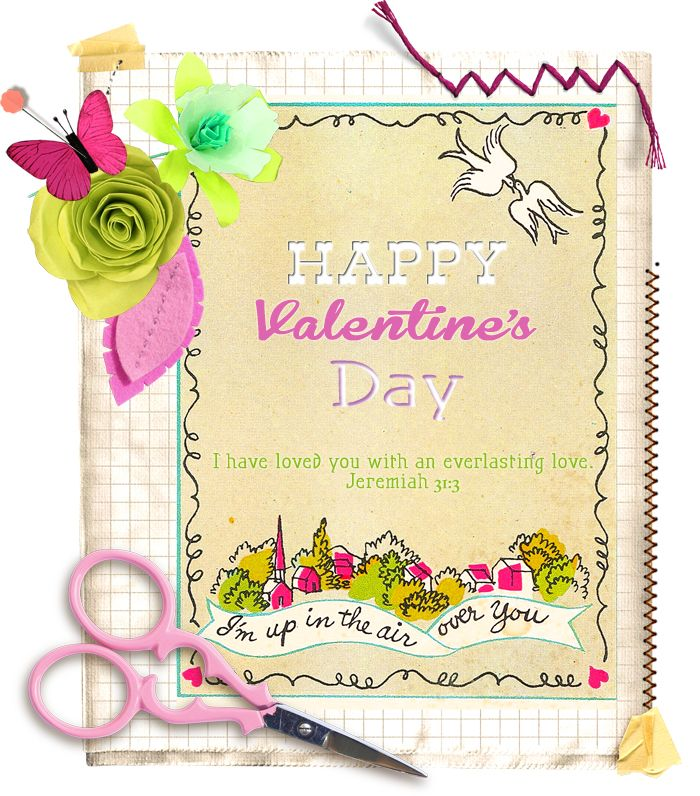 Valentine's printable from the lovely megan of contented sparrow