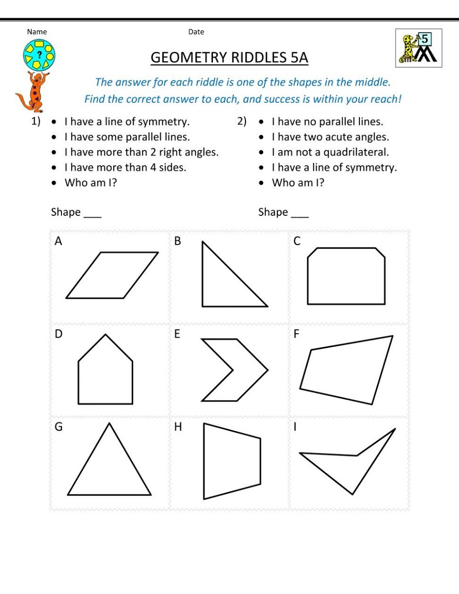 small resolution of Mathematics Worksheets   K5 Worksheets Sixth grade math Sixth-grade-math  Math projects Science lessons…   Geometry worksheets