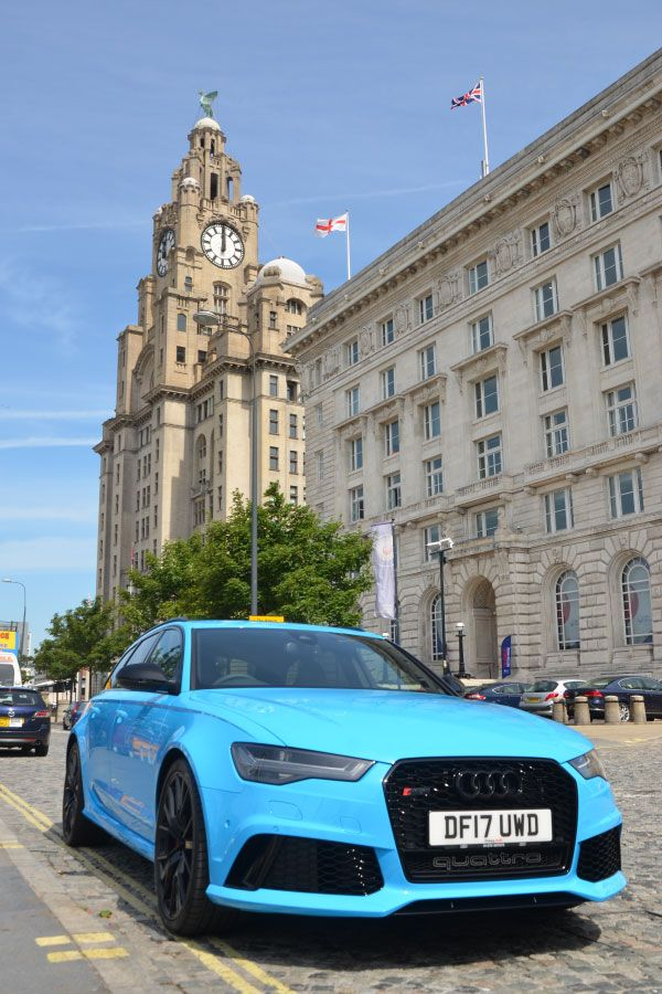 Audi Rs6 In One Of The Greatest Cities In The World Audi