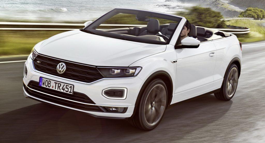Volkswagen T Roc Cabrio In 2020 Subcompact Cars Volkswagen Convertible Volkswagen
