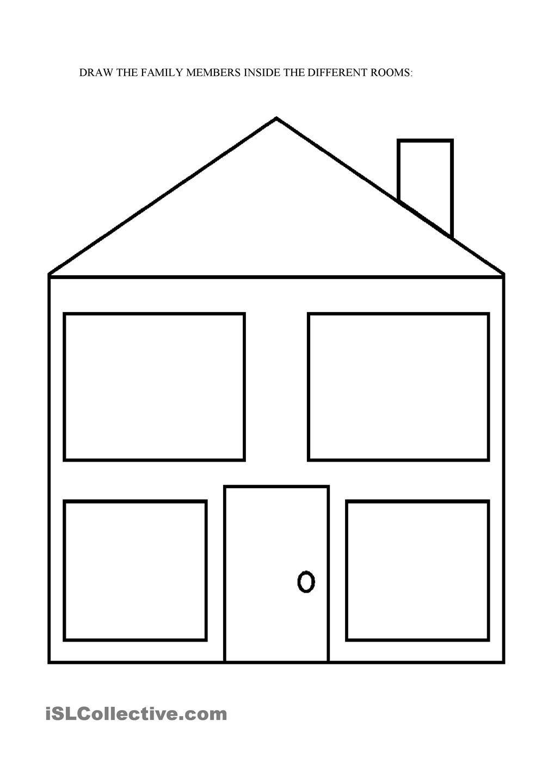 empty house | Elementary instruction | Family worksheet, The ...