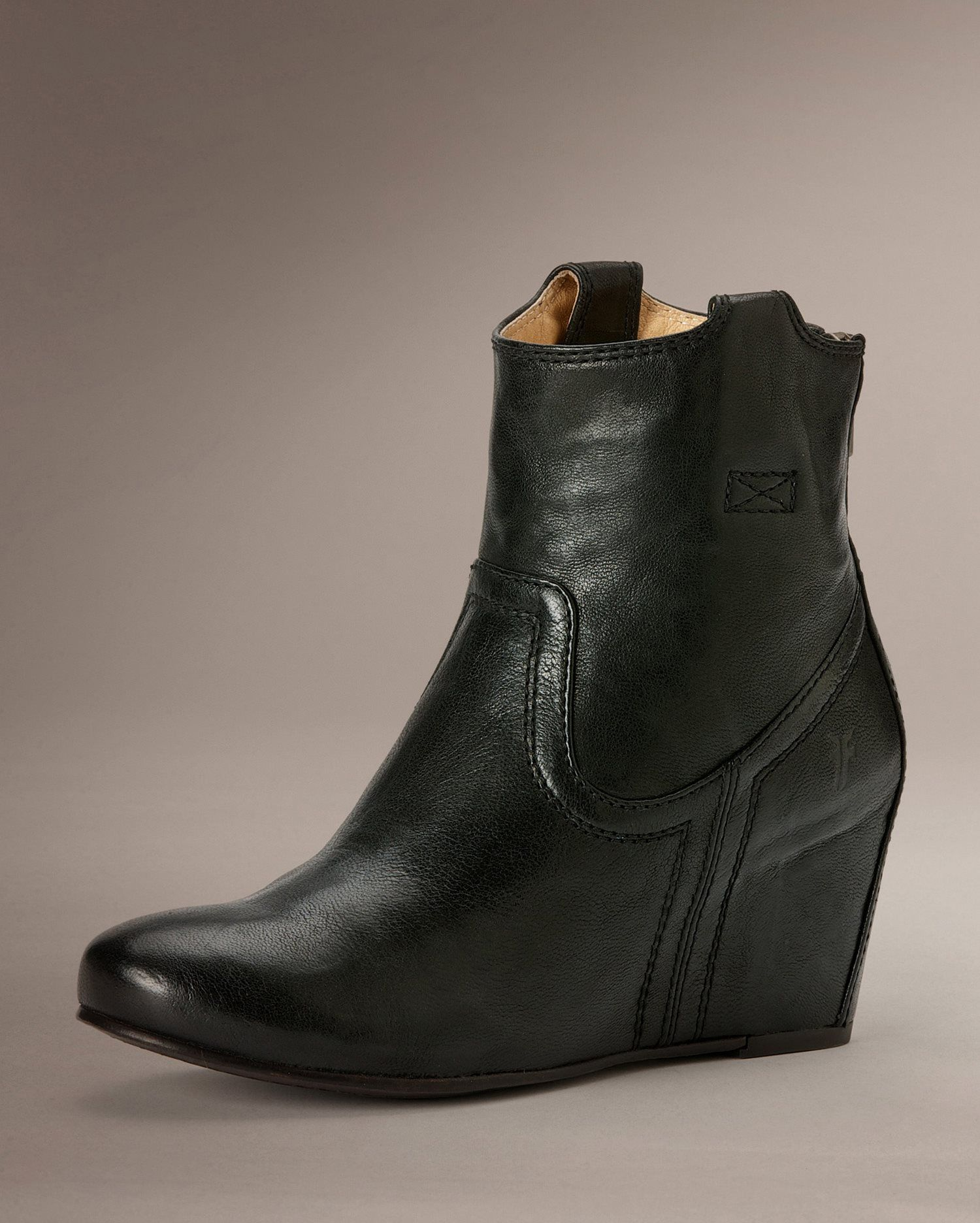 Carson Wedge Bootie - Women_Boots_Tailored - The Frye Company