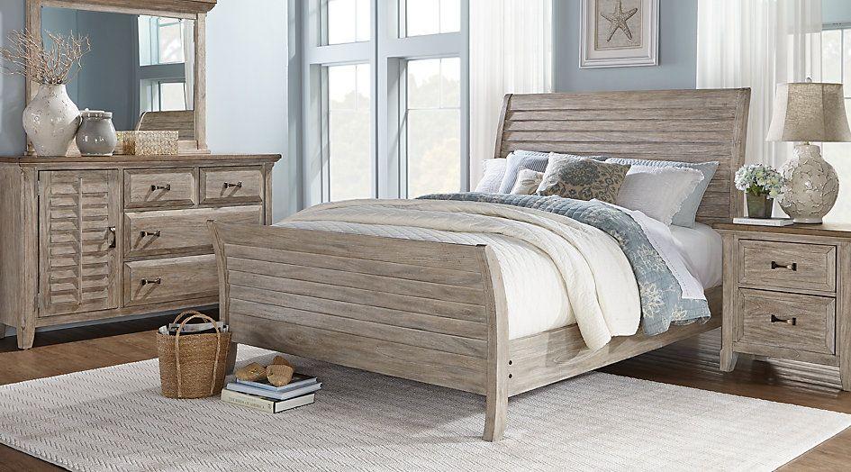 Nantucket Breeze White 5 Pc King Sleigh Bedroom .1455.0. Find Affordable  King Bedroom Sets