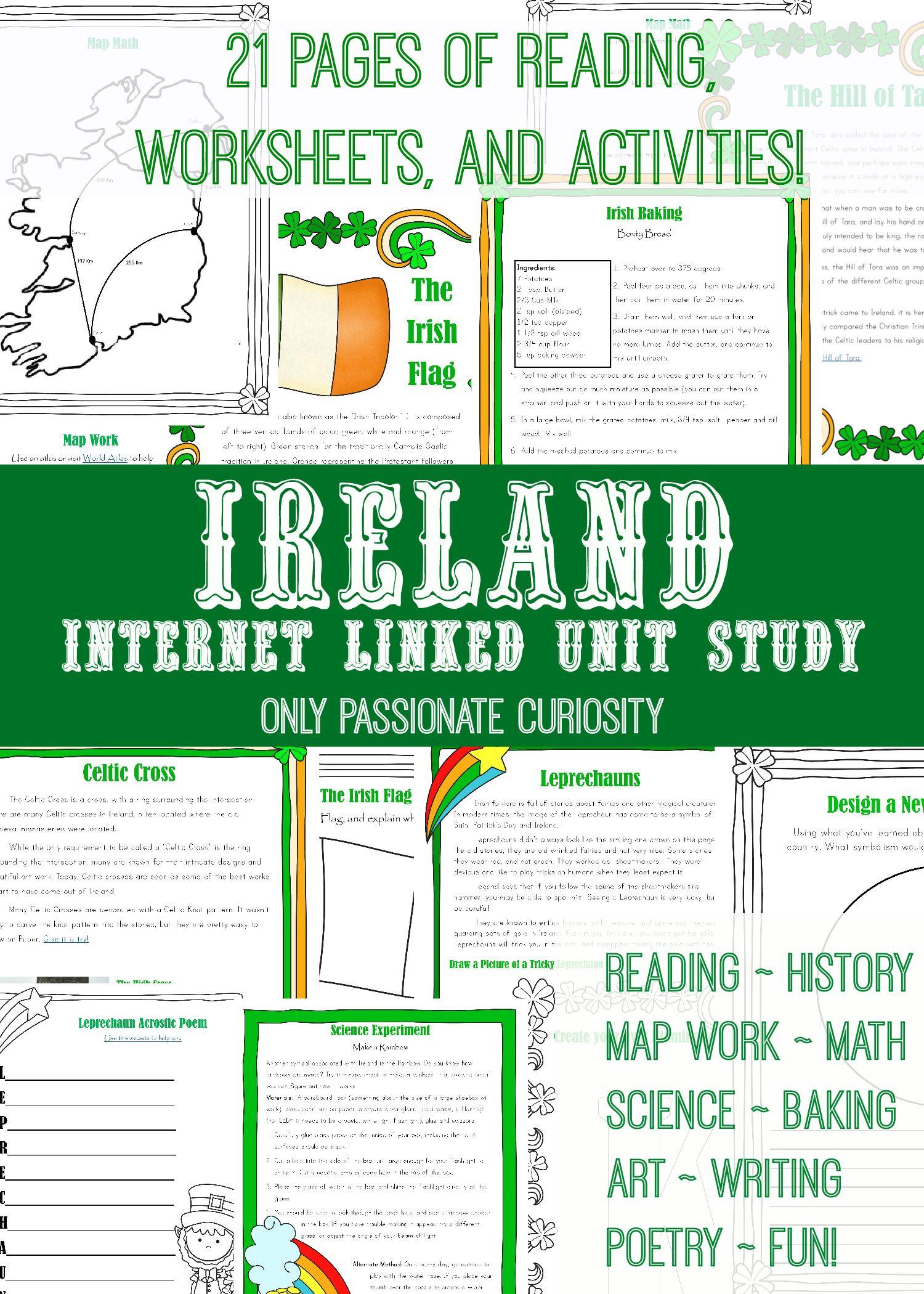 Worksheet History Ireland