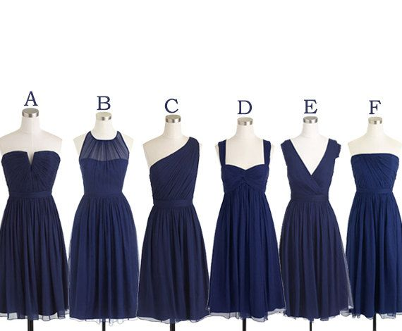Short Bridesmaid Dresses Navy Blue Bridesmaid Dress Mismatc Blue Bridesmaid Dresses Short Mismatched Bridesmaid Dresses Blue Navy Blue Bridesmaid Dresses Short