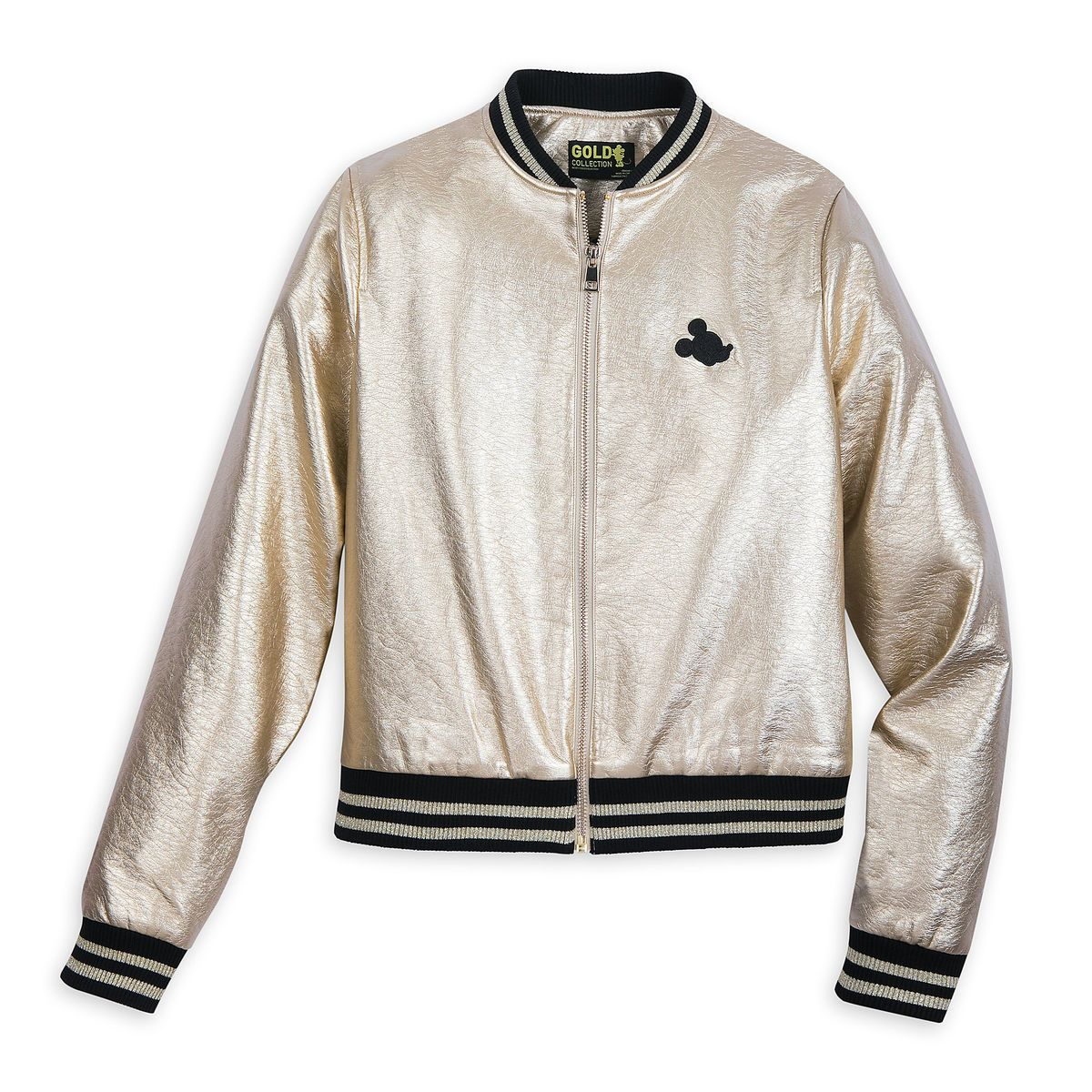791ff0187da0 Mickey The True Original Varsity Jacket for Women - Gold Collection ...