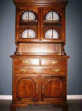 Beau $400 TEMPLE STUART COLONIAL STYLE HUTCH 2pc Set Maple Furniture, Modern  Furniture, Furniture Design