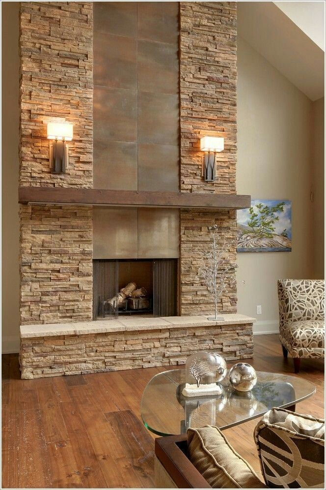 Stone Tile Combo Mantle Is A Bit Heavy In 2019
