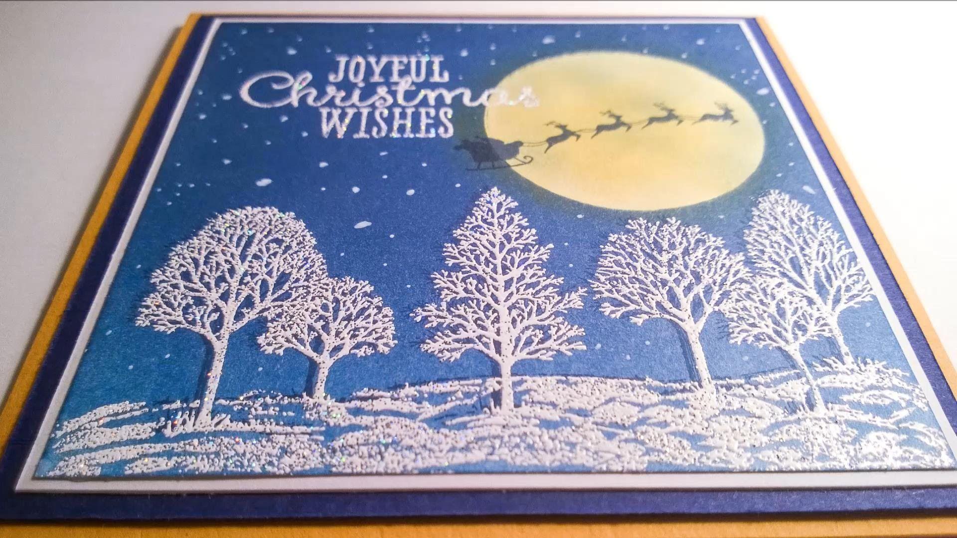 Christmas Card 2014 #6 - Brayered Christmas Eve - Lovely As A Tree