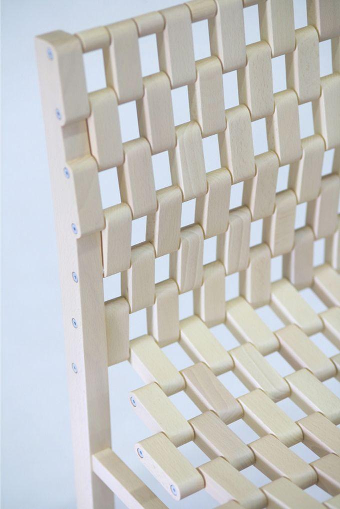 Netz Spannen 100 chair woodworking woods and detail
