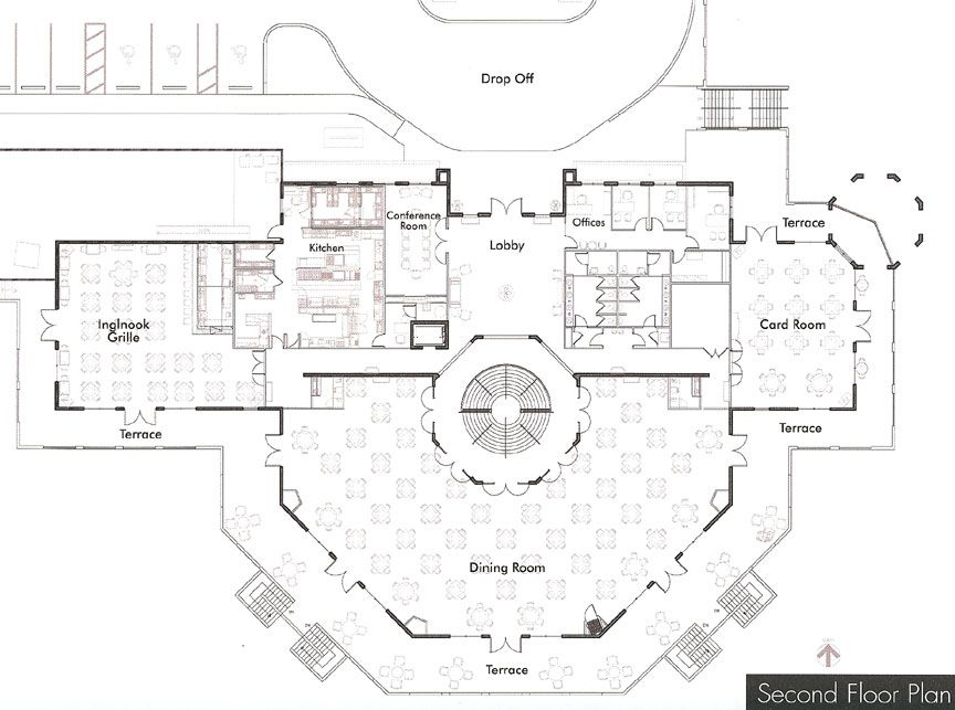 Clubhouse Plan Clubhouse Design Club House House Plans