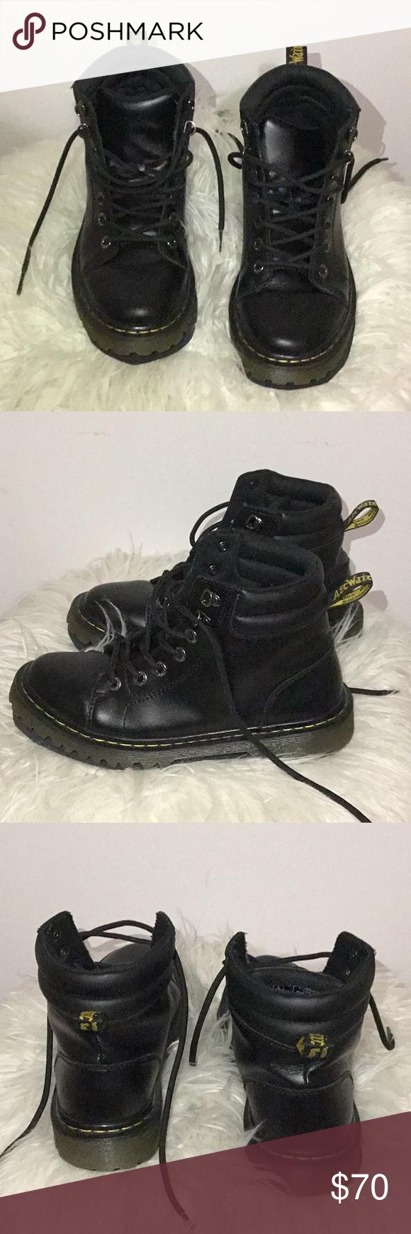 34ff8b375378 Dr Martens Faora Faora black combat boot. Worn a hand full of times ...
