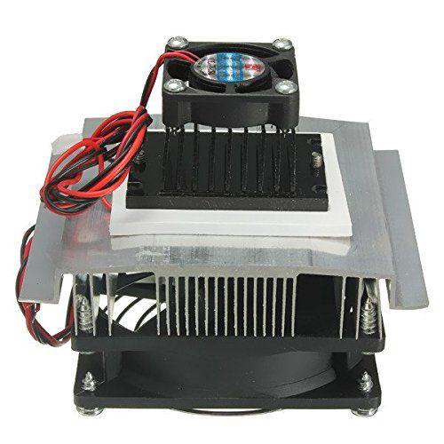 Tec12706 Thermoelectric Peltier Refrigeration Cooling System Kit Cooler Fan Thermoelectric Peltier Refrigeration Cooling Cooling System Cooling Fan Cool Stuff