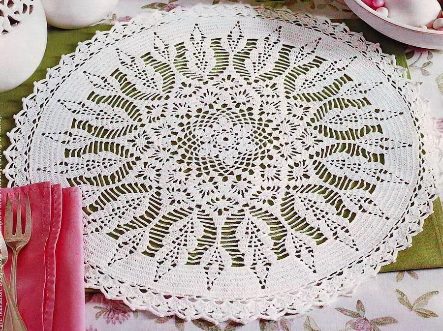 Crochet Art: Doilies - Crochet Doily - Beautiful White Doily ...