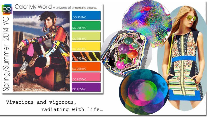 spring 2014 color trends vignette trends events design