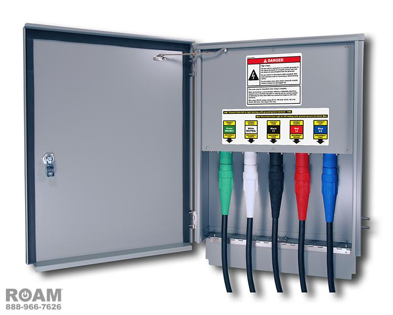 3 Phase Generator Connectors - Wiring Diagrams •