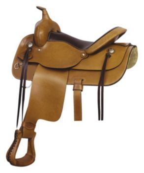(Limited Supply) Click Image Above: Saddlesmith Texas Trail Rider Saddle 16in Rich Pec