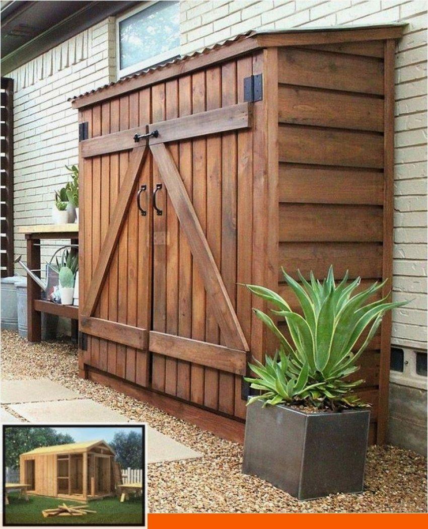 Pin On Home Decor In 2020 Backyard Landscape Architecture Backyard Sheds Diy Shed Plans