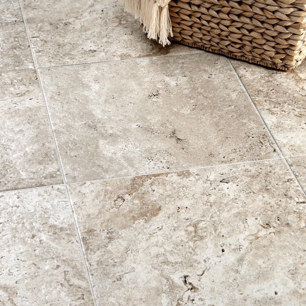 Marazzi Travisano Trevi 18 In X 18 In Porcelain Floor And Wall Tile 17 6 Sq Ft Case Ulnc The Home Depot Porcelain Flooring Flooring Wall Tiles