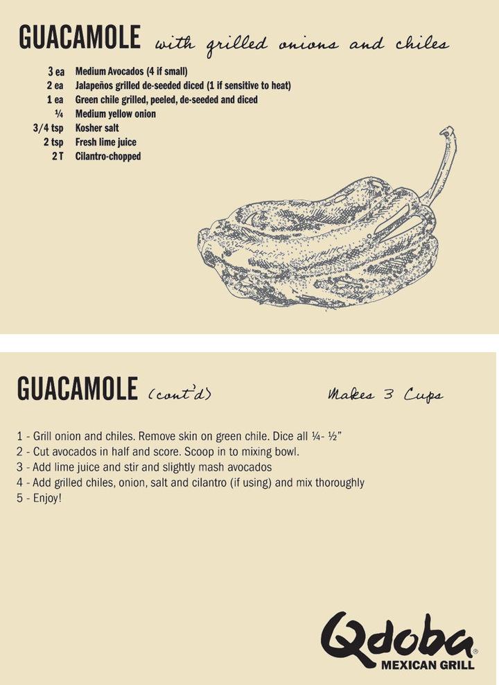 Pin By Qdoba On Recipe Vault Qdoba Recipe Mexican Food Recipes Qdoba