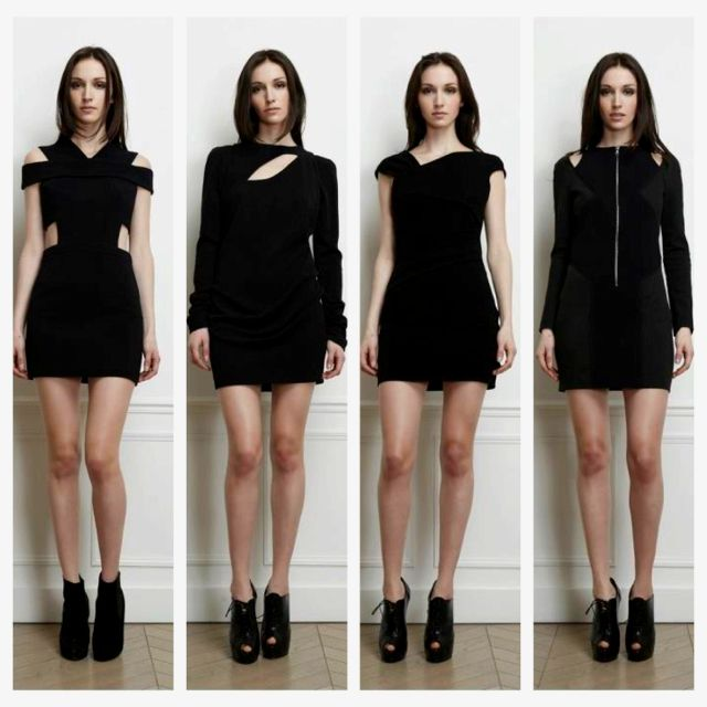 FW12 collection from Clotilde, of France. Parisien chic!
