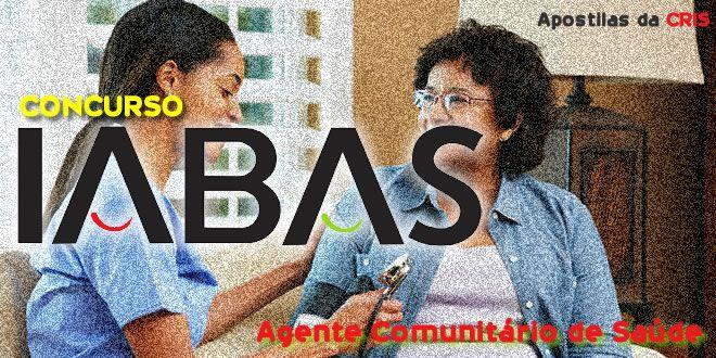 Apostila Agente Comunitario De Saude Iabas Agente Comunitario De