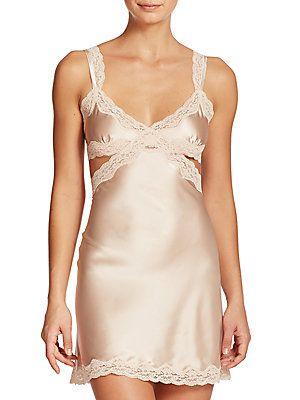 43475d51da90c2 Stella McCartney Clara Whispering Stretch Silk Chemise | Underwear ...