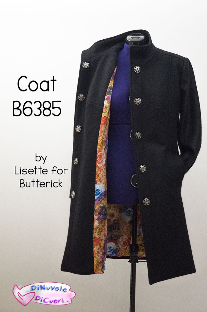 Il mio nuovo cappotto Butterick B6385!