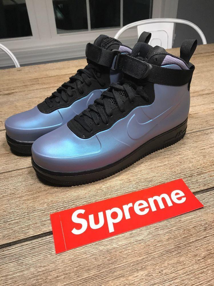 34c75c0caa6 Nike Air Force 1 Foamposite Cup AF1 Light Carbon Mens Sneakers AH6771-002  SZ 9.5