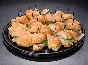 Party Trays And Platters Kcc Gourmet Catering Christmas Brunch