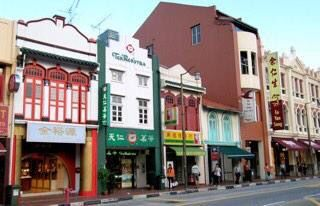 Shophouses in Chinatown, Singapore.    THE LIBYAN  Esther Kofod  estherkofod.com