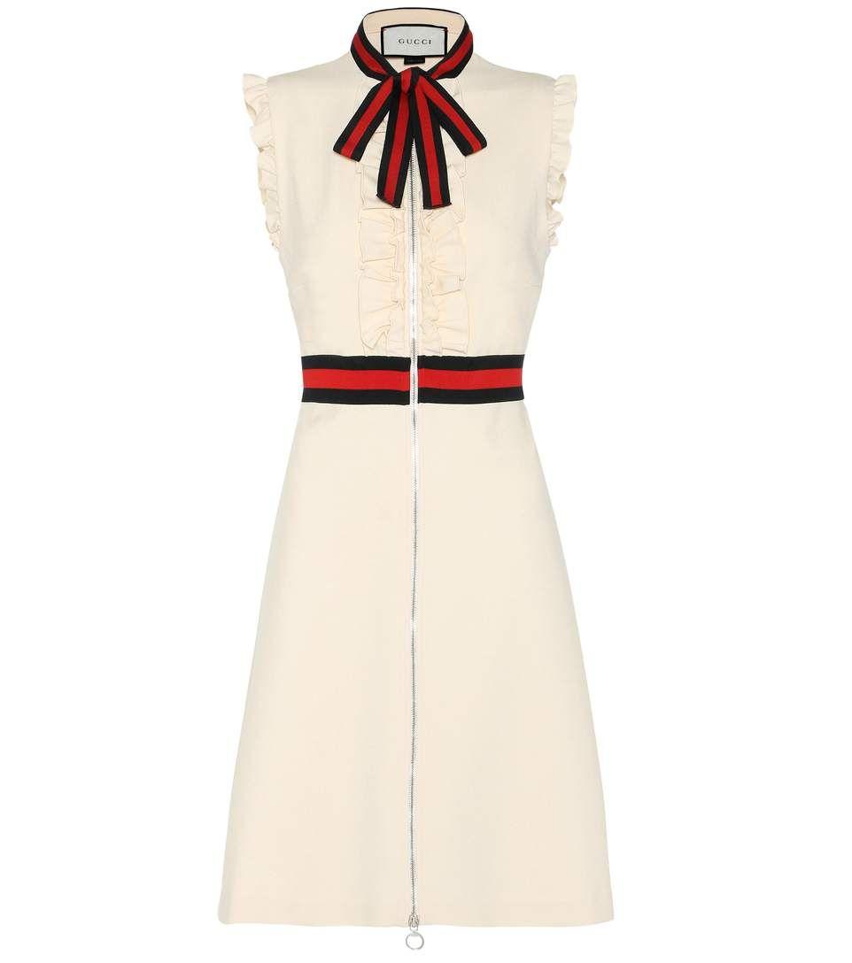GUCCI Crêpe Dress.  gucci  cloth  dresses Letné Šaty c56ef209345