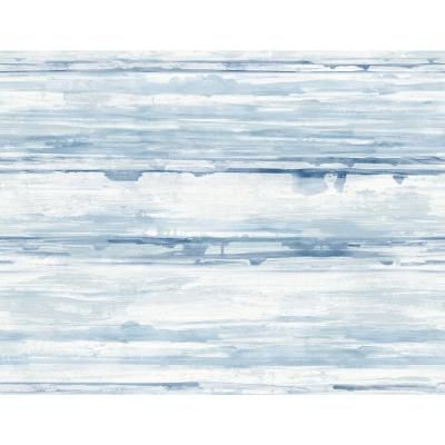 A-Street Sandhurst Blue Abstract Stripe Paper Strippable Roll (Covers 60.8 sq. ft.)-2949-60912 - The Home Depot