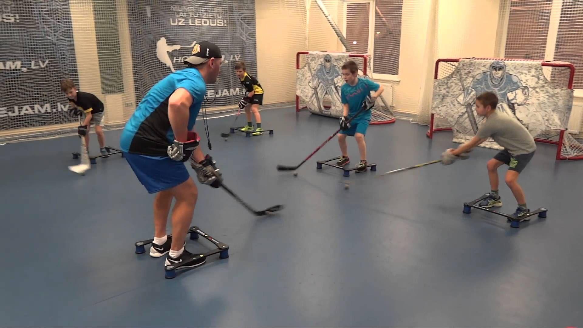 Off Ice Hockey Training Stickhandling Workout Hockey Training Hockey Drills Ice Hockey