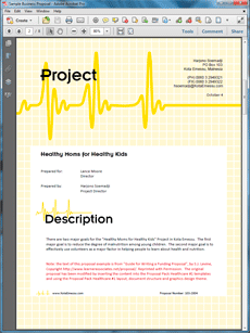 Healthcare Grant Sample Proposal  Create Your Own Custom Proposal