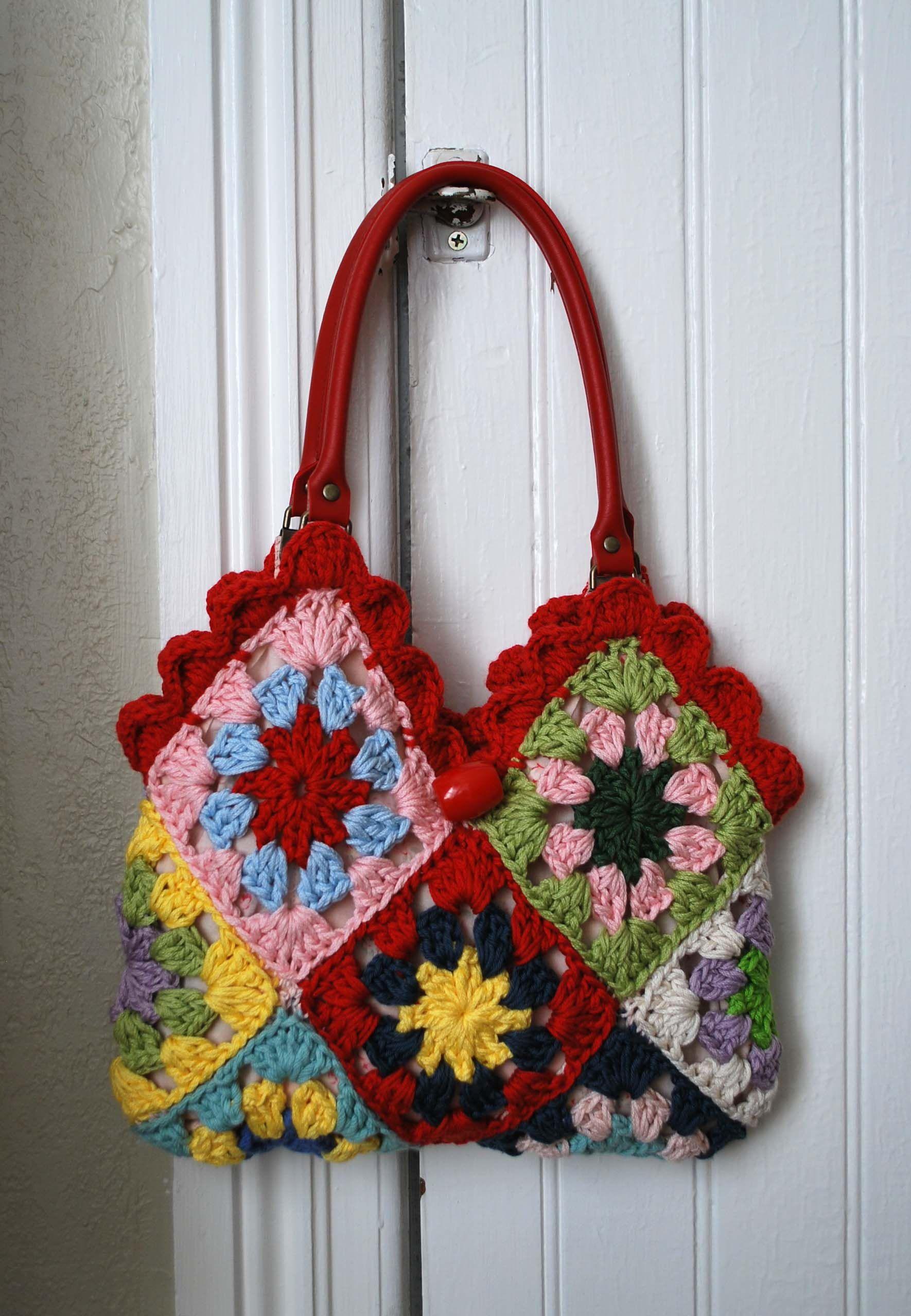 granny bag   house fikirler   Pinterest   Taschen, Muster und ...