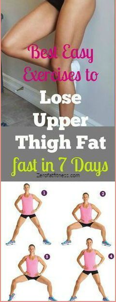 9 Easy Exercises to Lose Upper Thigh Fat in 7 Days at Home