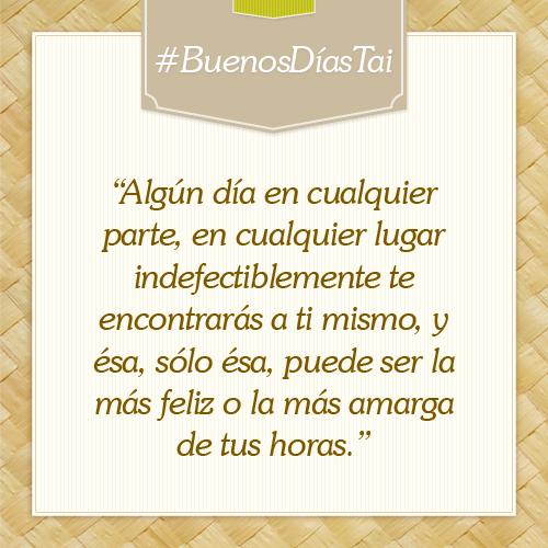 #BuenosDíasTai.