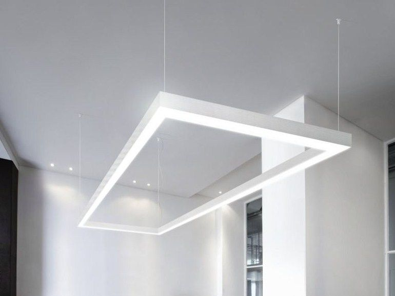 LED extruded aluminium pendant lamp NOLITA OUT By PANZERI