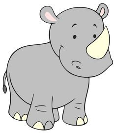 baby rhino clipart baby nursery jungle pinterest baby rhino baby rh pinterest com rhino clip art free rhino silhouette clip art