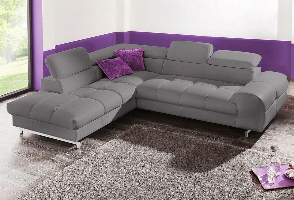 Polsterecke, wahlweise mit Bettfunktion Jetzt bestellen unter   - wohnzimmer sofa braun