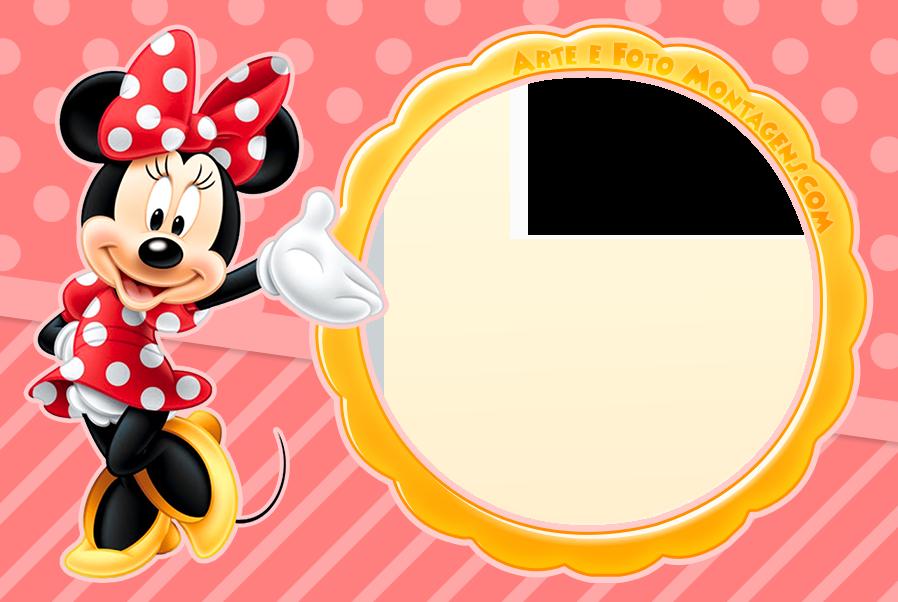 Minnie Vermelha 2 Molduras Arte E Foto Montagenscom Pinterest