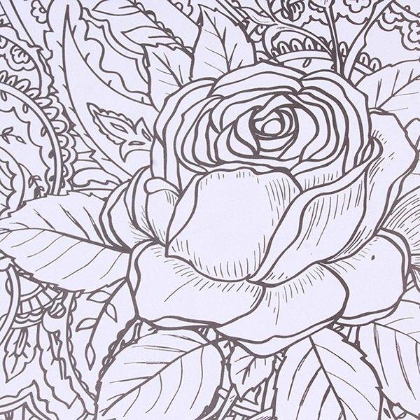 12 Sheets Book Secret Garden DIY Coloring An Inky Treasure Hunt Art Graffiti Painting Drawing